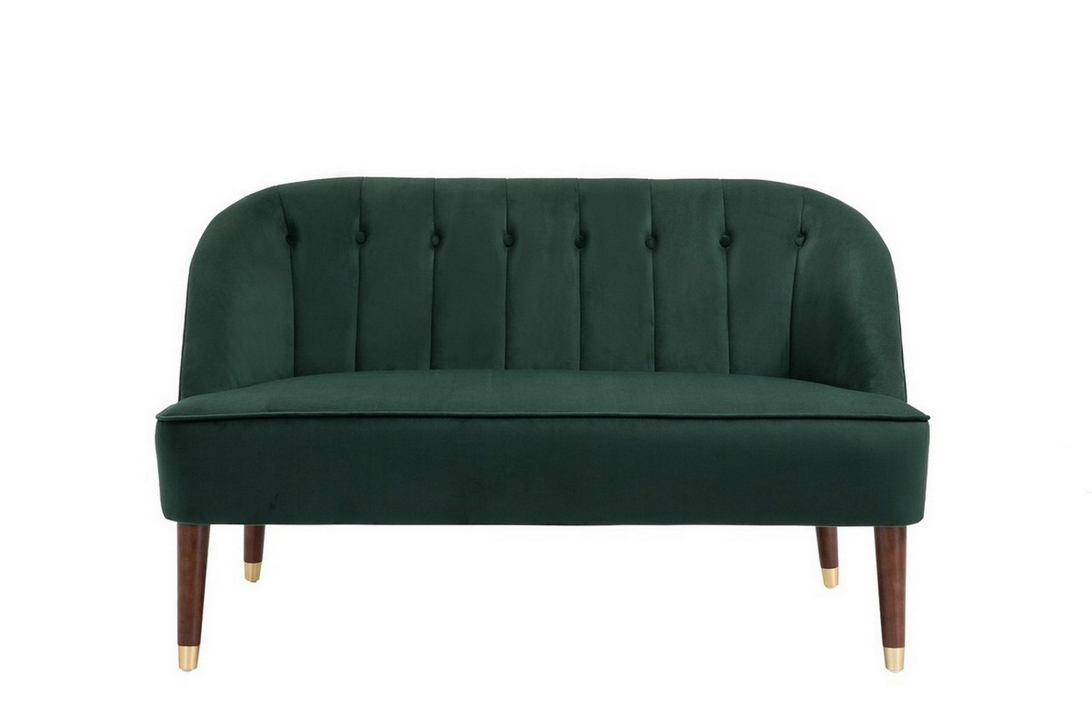 Birlea Alexa 2 Seater Fabric Sofa - Green
