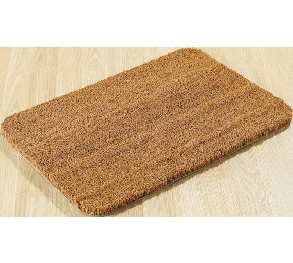 buy home coir doormat natural at your. Black Bedroom Furniture Sets. Home Design Ideas