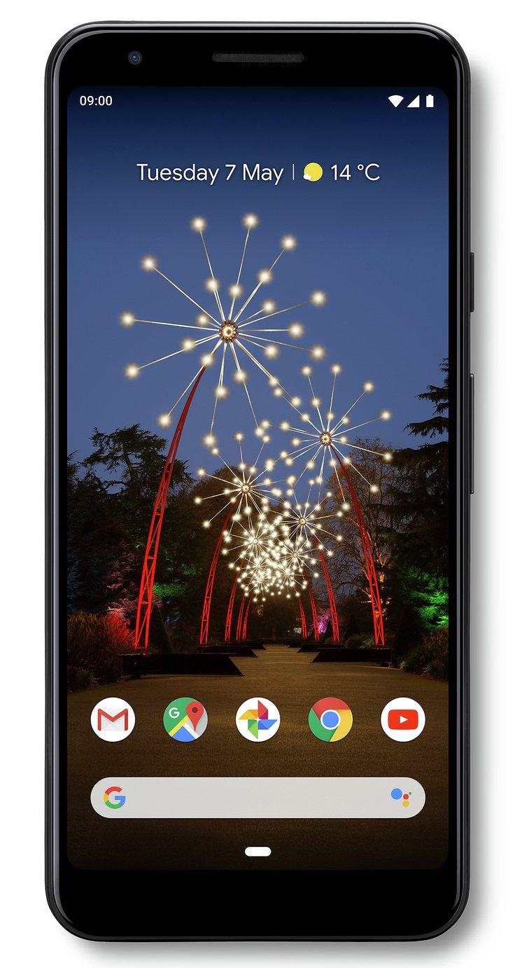 SIM Free Google Pixel 3a 64GB Mobile Phone - Black
