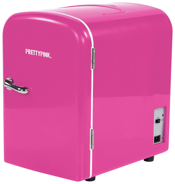 'Pink - Mini Fridge - 4 Litre Capacity