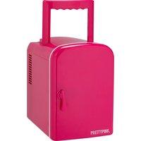 Pink - Mini Fridge - 4 Litre Capacity