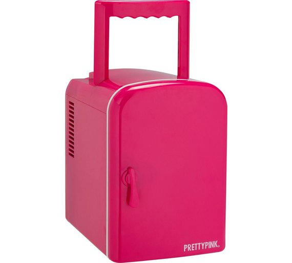 Buy 4 Litre Pink Mini Travel Fridge at Argos.co.uk - Your Online ...