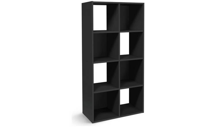 wholesale dealer b0c81 359be Buy Argos Home Squares 8 Cube Storage Unit - Black | Storage units and  drawers | Argos