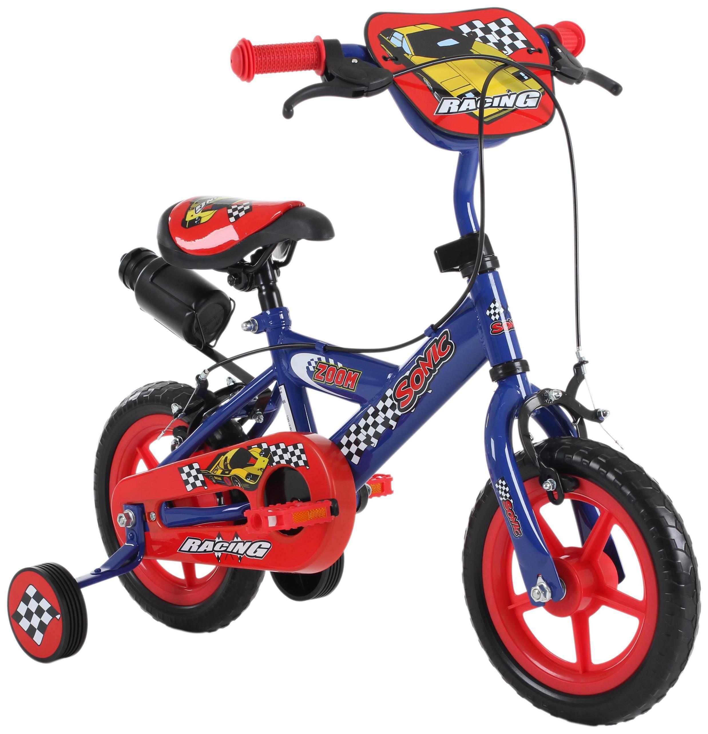 Sonic Zoom 12 inch Wheel Size Kids Bike