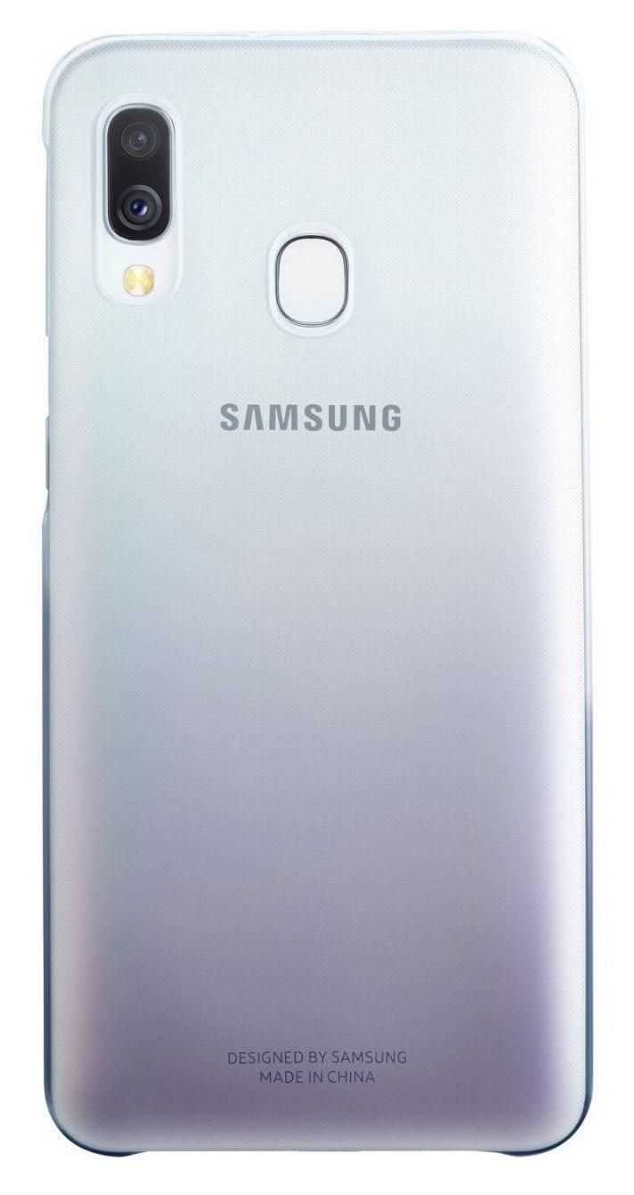 Samsung Galaxy A40 Gradation Phone Case - Black