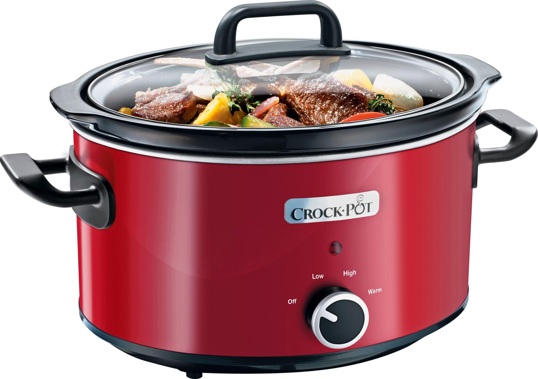 Image of Crock-Pot - SCV400RD-060 35L Slow Cooker - Red