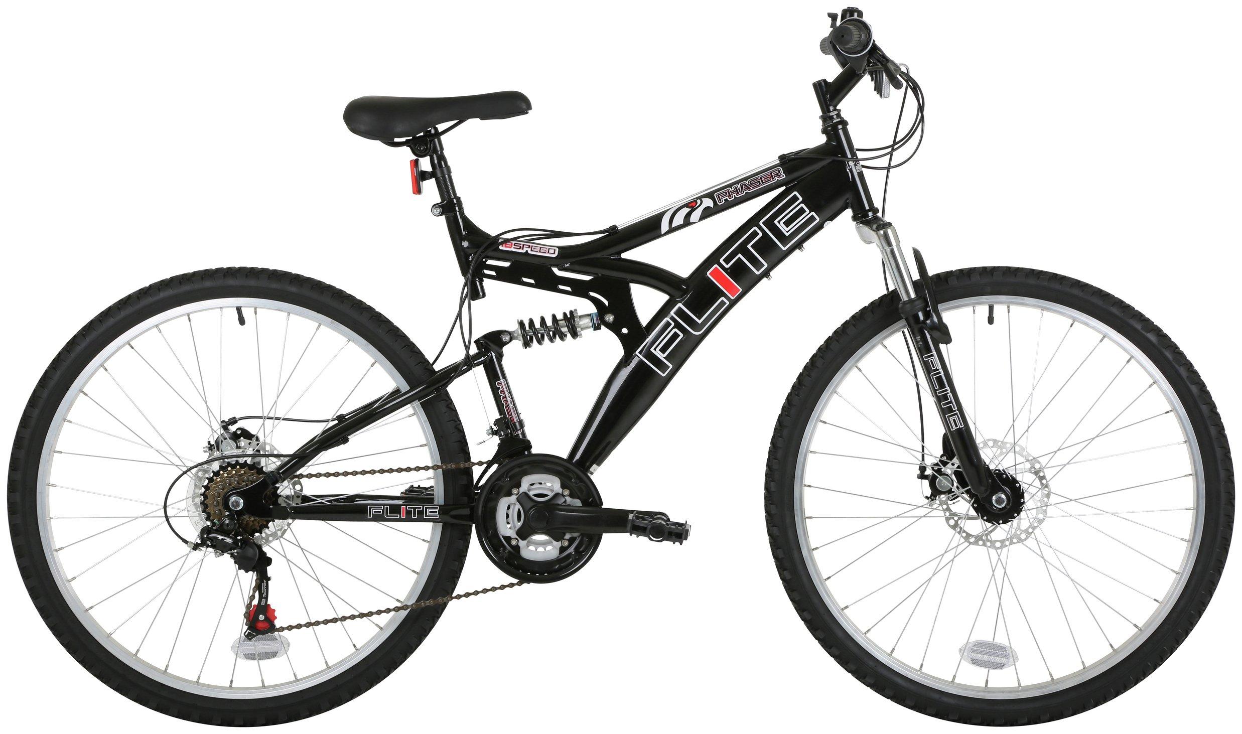 Image of Flite Phaser - 2 - 26 Inch FS Mountain Bike - Mens