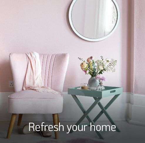 Refresh your home.