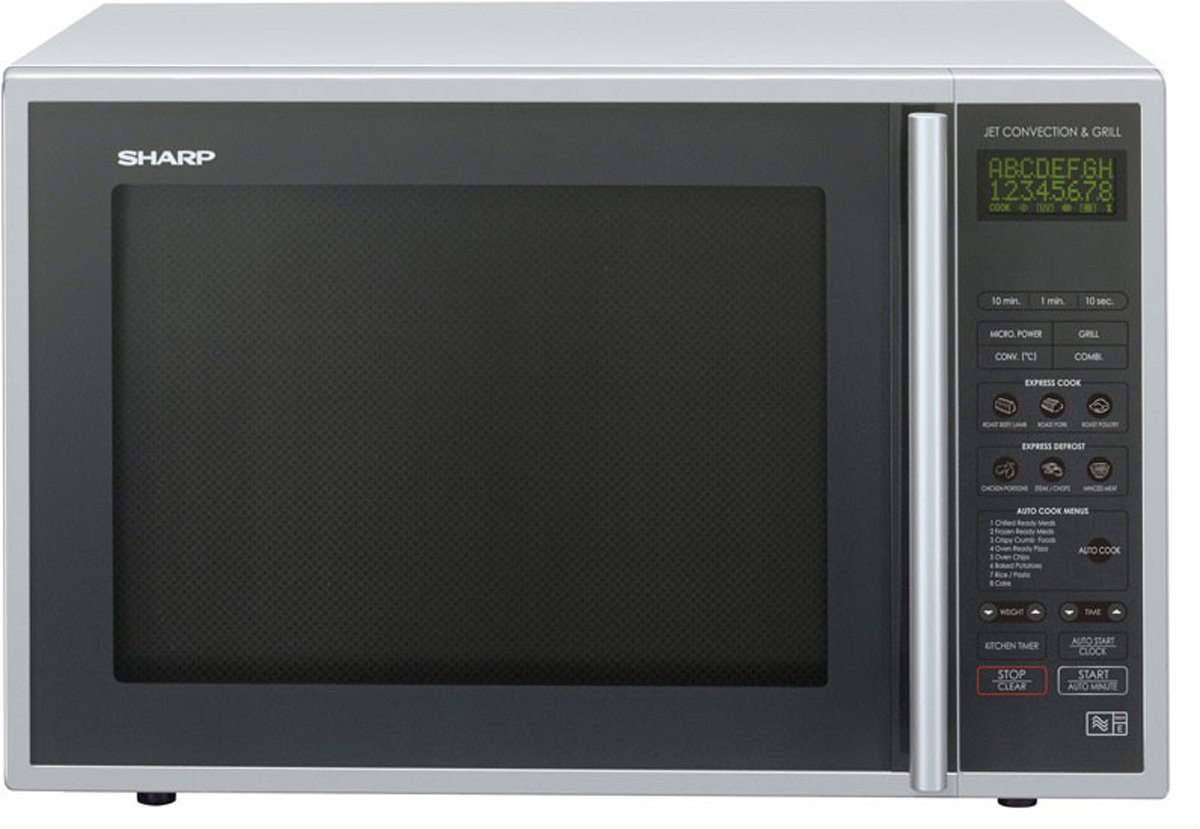 Sharp 900W Combination Microwave R959SLMAA - Silver