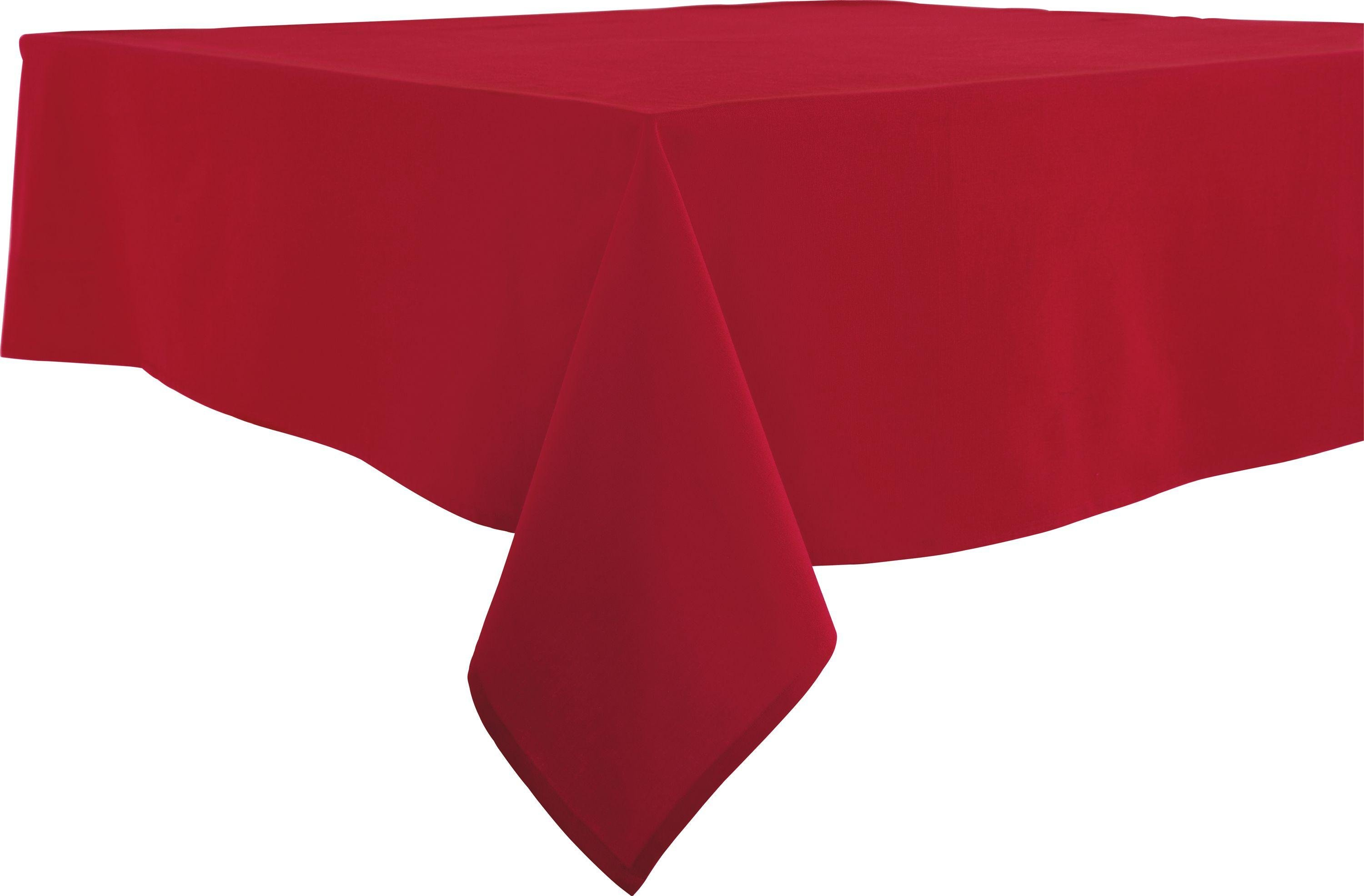 HOME Red Table Cloth