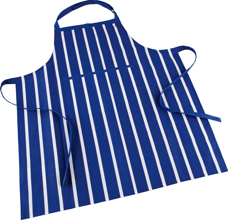 White apron argos - Home Butchers Stripe Apron