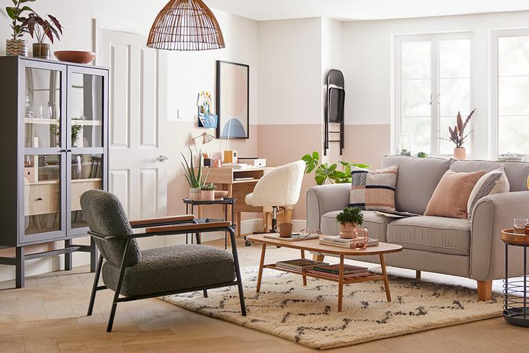 Living room scene.