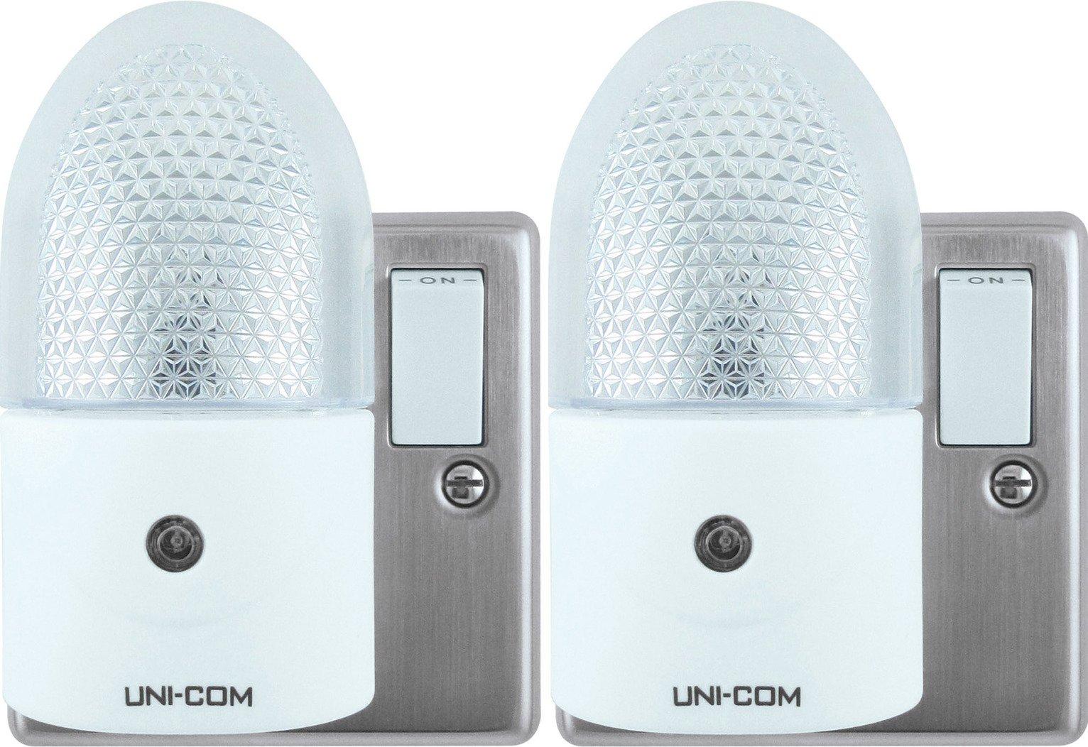 LED Night Light Twin Pack Uni-Com