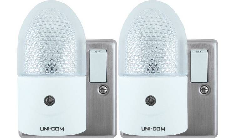 LED Night Light Twin Pack Uni-Com