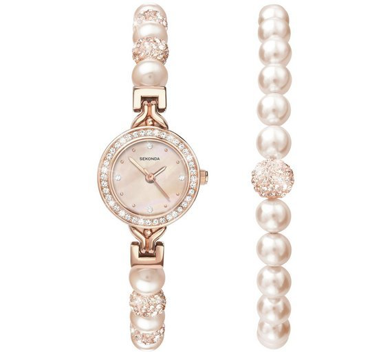 Sekonda Editions Ladies' Crystalla Watch Gift Set
