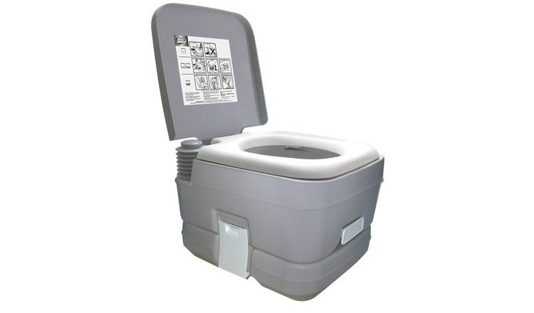 10-Litre Portable Flushing Toilet