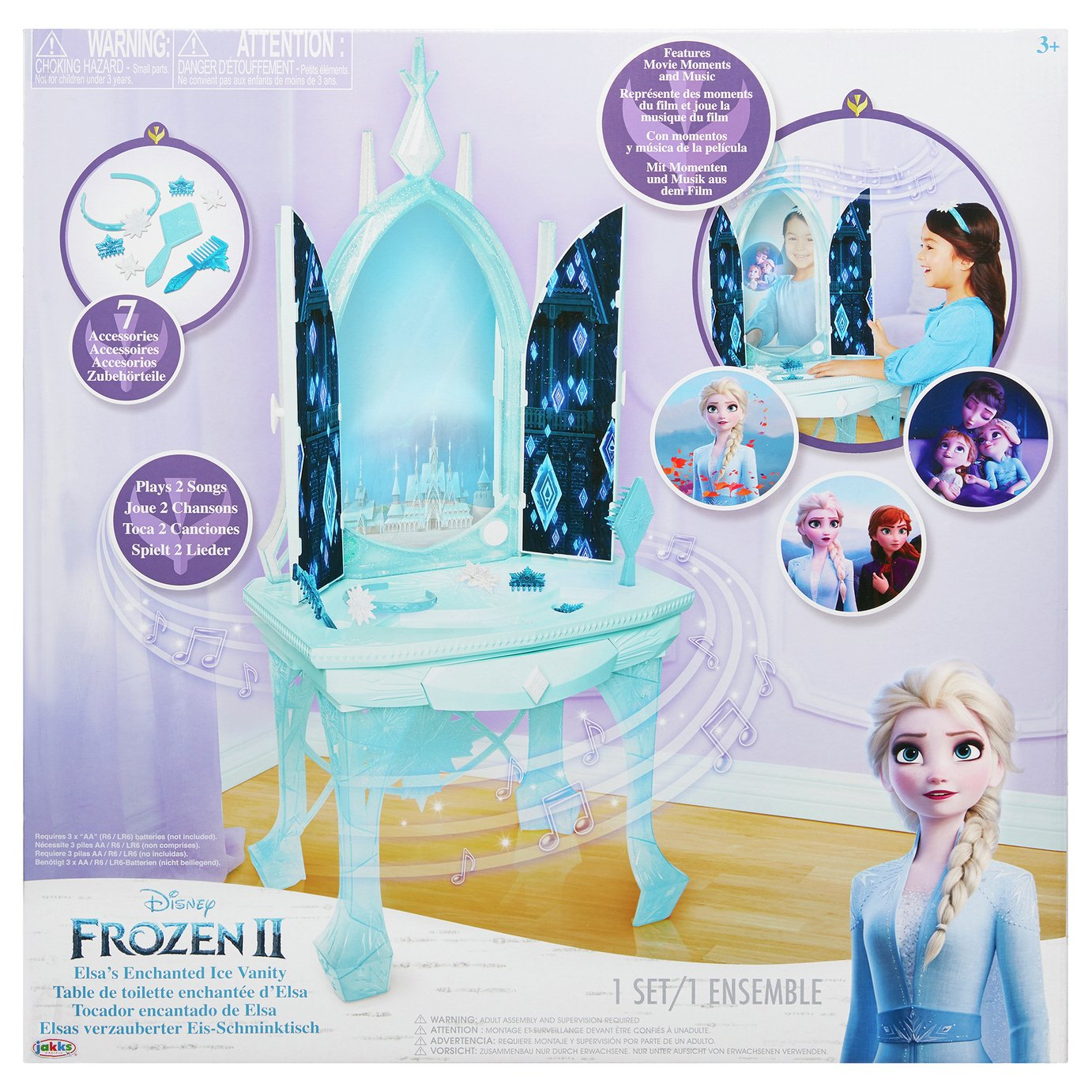 Disney Frozen 2 Elsa's Enchanted Ice Vanity