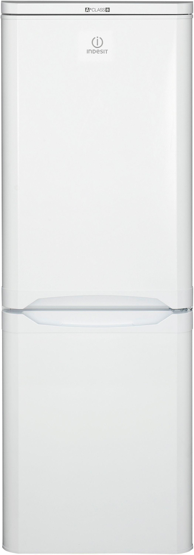 Image of Indesit NCAA55 Freestanding Tall Fridge Freezer - White