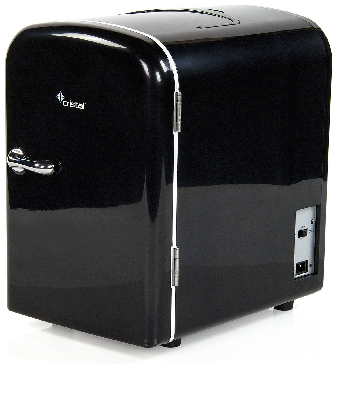 Image of Black Mini Fridge - 4 Litre Capacity