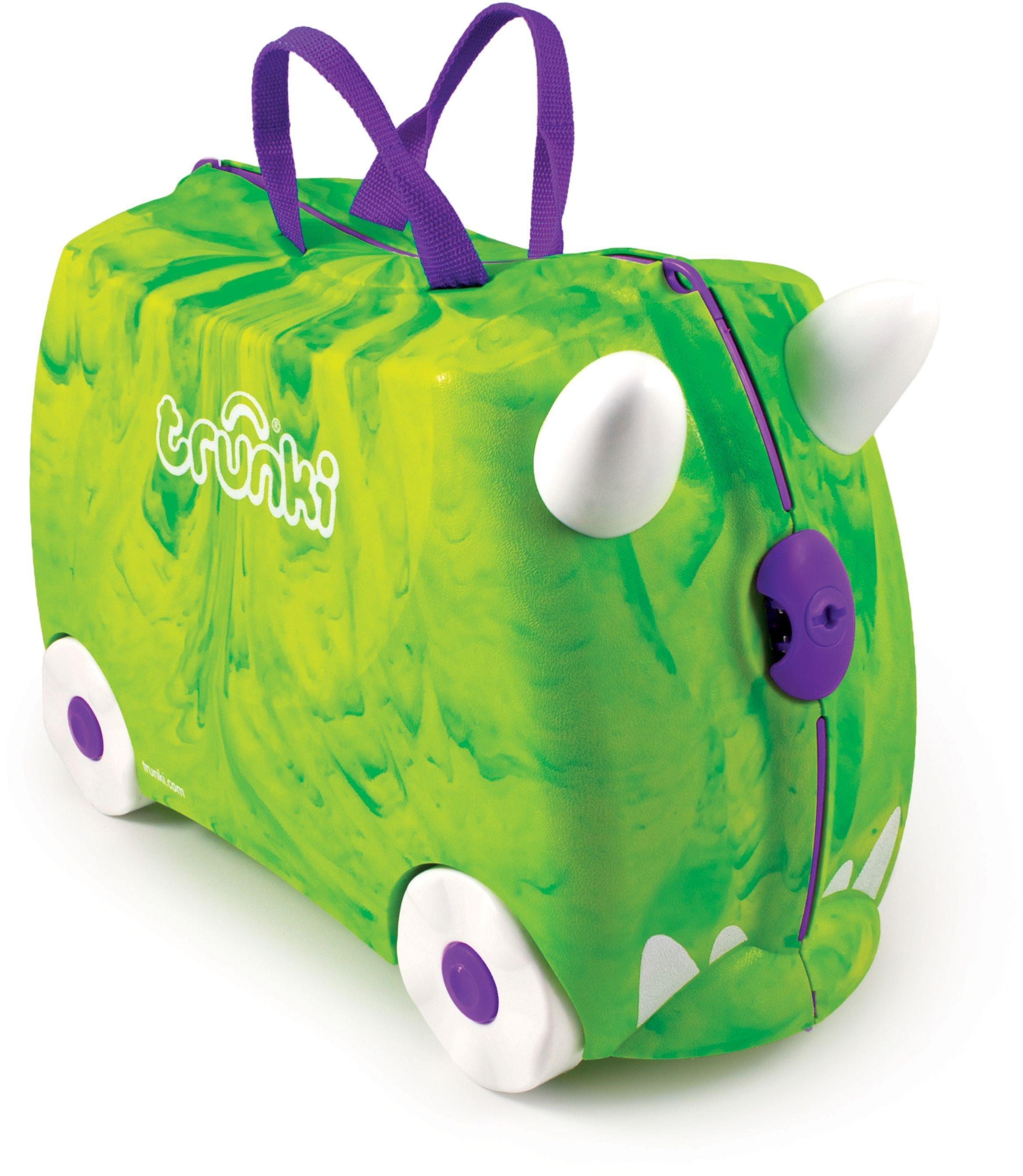 Trunki - Trunkisaurus Rex Ride-On Suitcase - Green