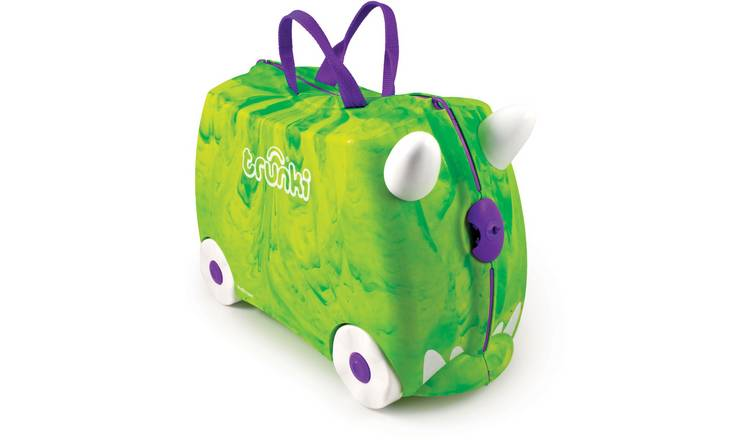 Trunki Trunkisaurus Rex 4 Wheel Hard Ride On Suitcase