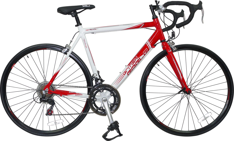 Falcon Velocita 57cm White and Red Road Bike Mens