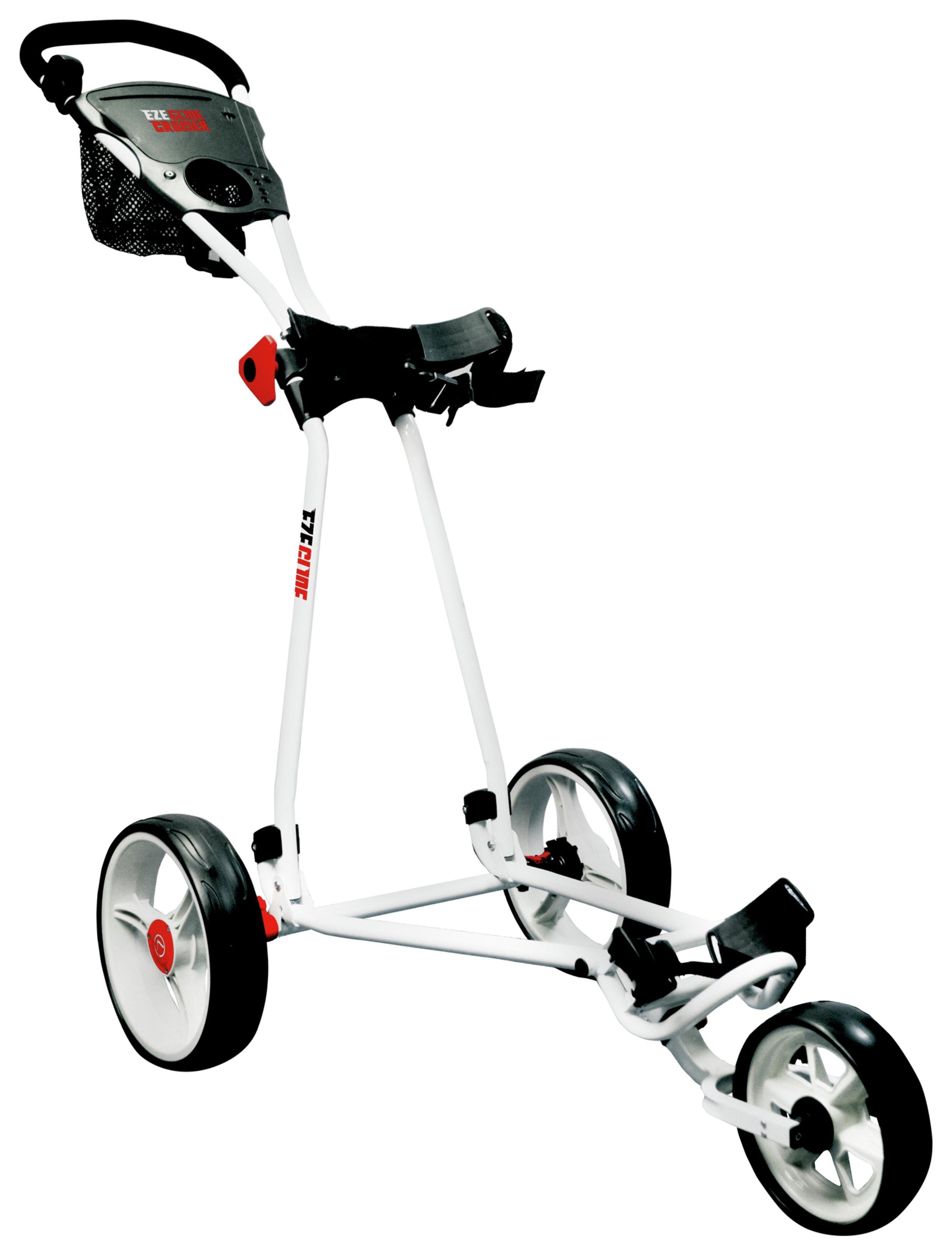 Eze Glide Cruiser White Golf Trolley