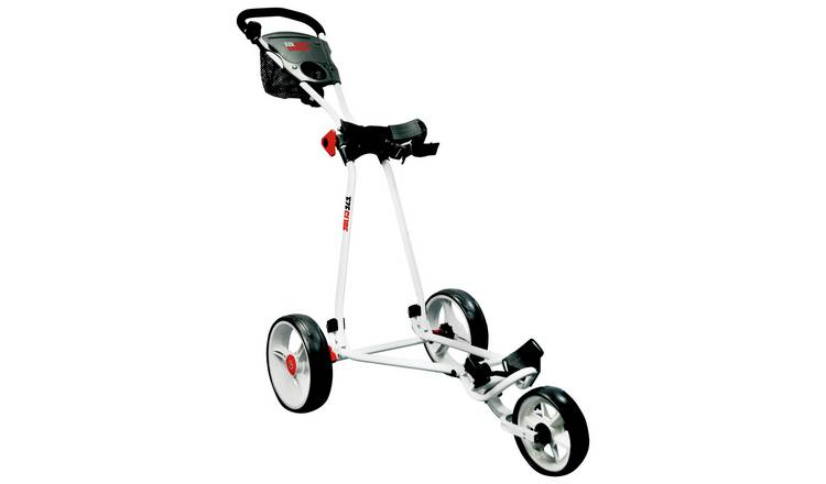 Eze Glide Cruiser White Golf Trolley.