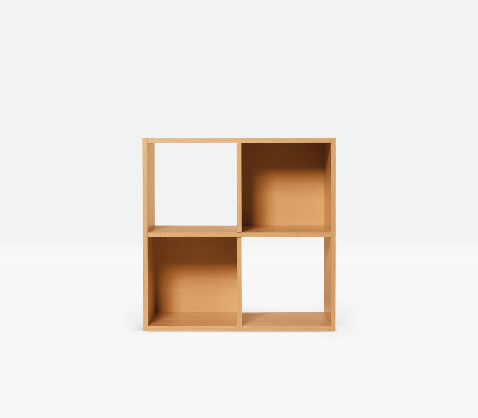 Argos Home Squares 4 Cube Storage Unit - Beech Effect
