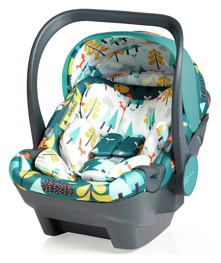 Cosatto Dock Group 0+ iSize Car Seat - Multicoloured