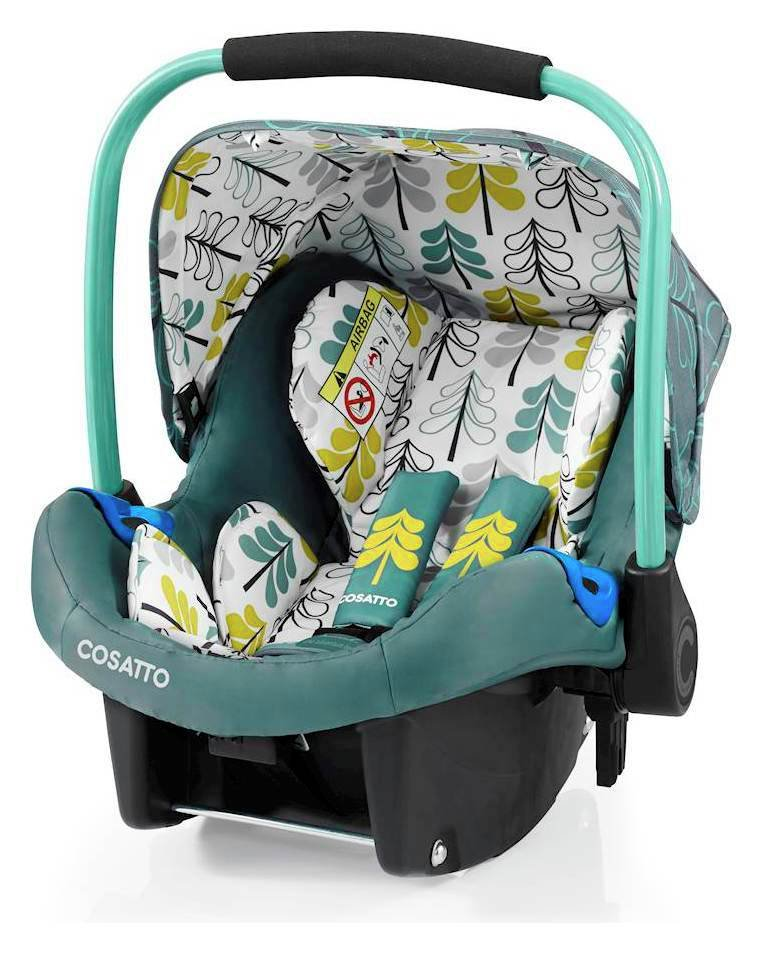 Cosatto Port Group 0+ Baby Car Seat - Green