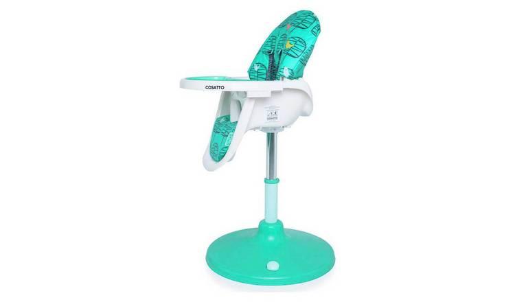 Buy Cosatto 3 Sixth Highchair Green Chorus   Highchairs   Argos