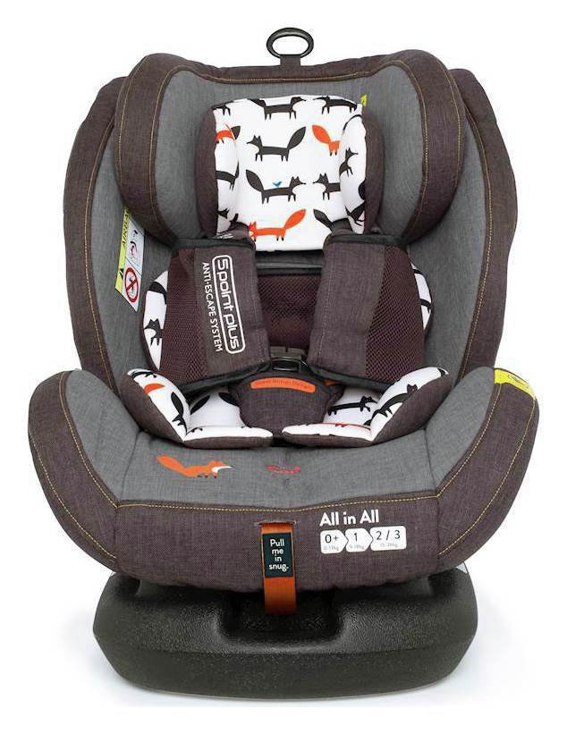 Cosatto All in All Group 0/1/2/3 ISOFIX Car Seat - Multi
