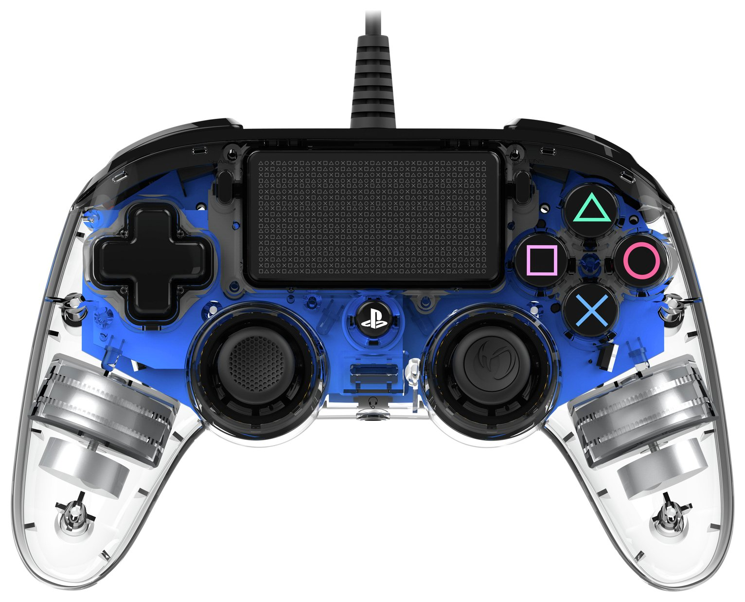 Nacon PS4 Compact Controller - Crystal Blue