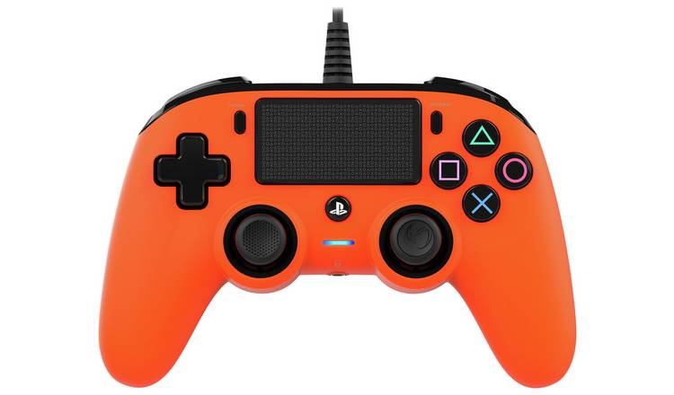 Nacon Compact PS4 Wired Controller - Orange