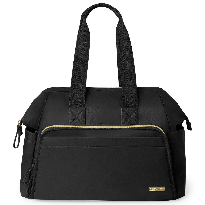 Skip Hop Main Frame Satchel Changing Bag - Black