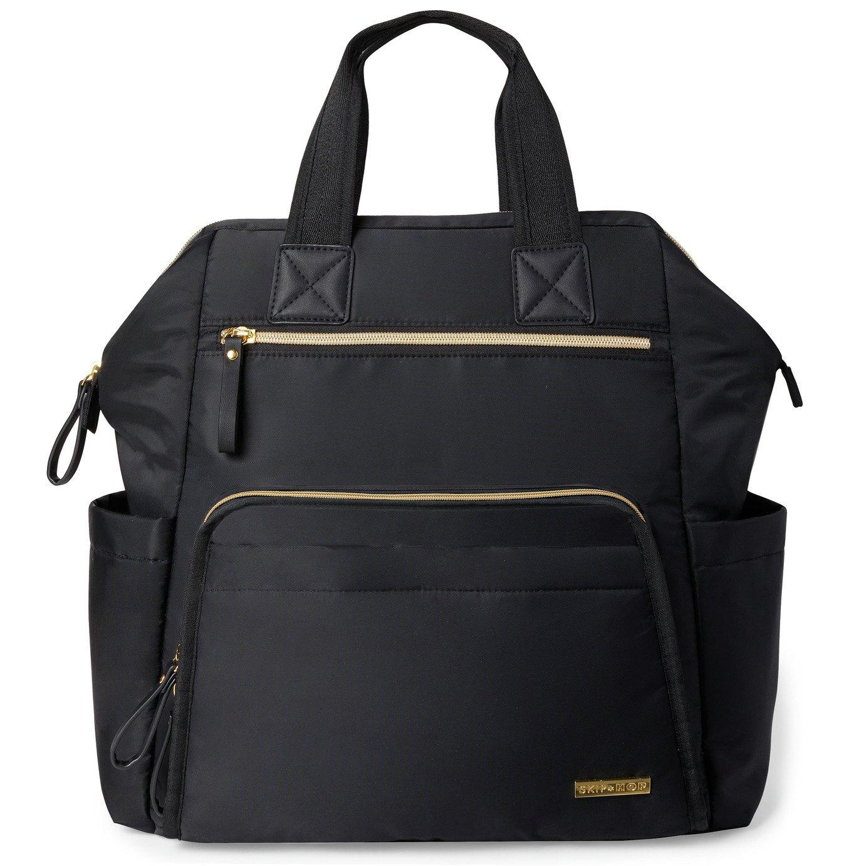 Skip Hop Main Frame Backpack Changing Bag - Black