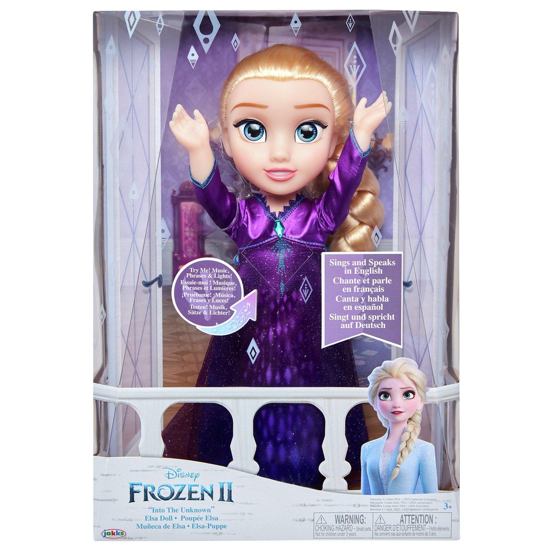 Disney Frozen 2 Features Singing Doll Elsa