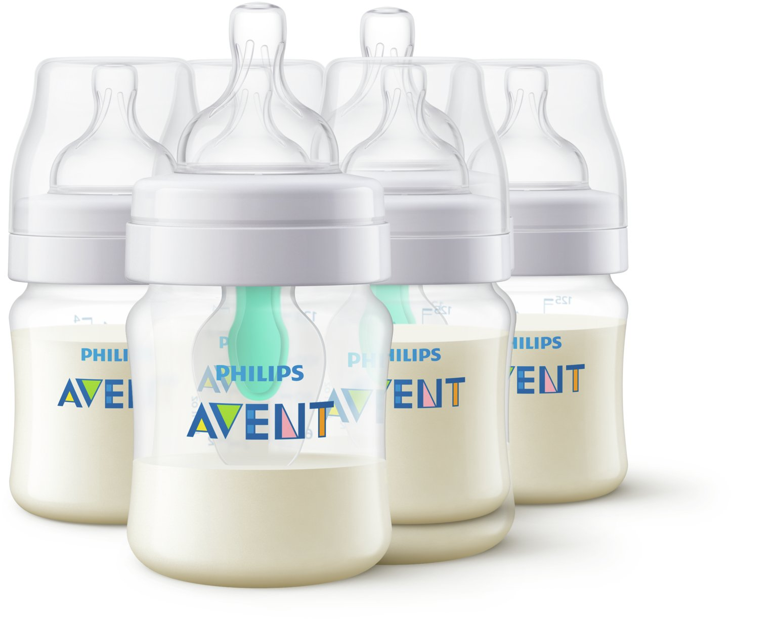 Philips Avent AirFree Vent Anti-Colic 4oz 0 Months - 3 Pack