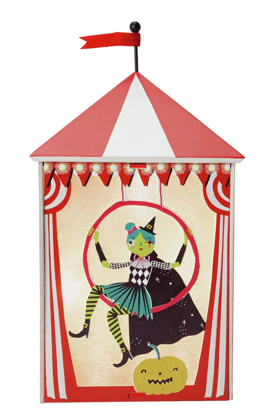 Halloween Light Up Circus Decoration