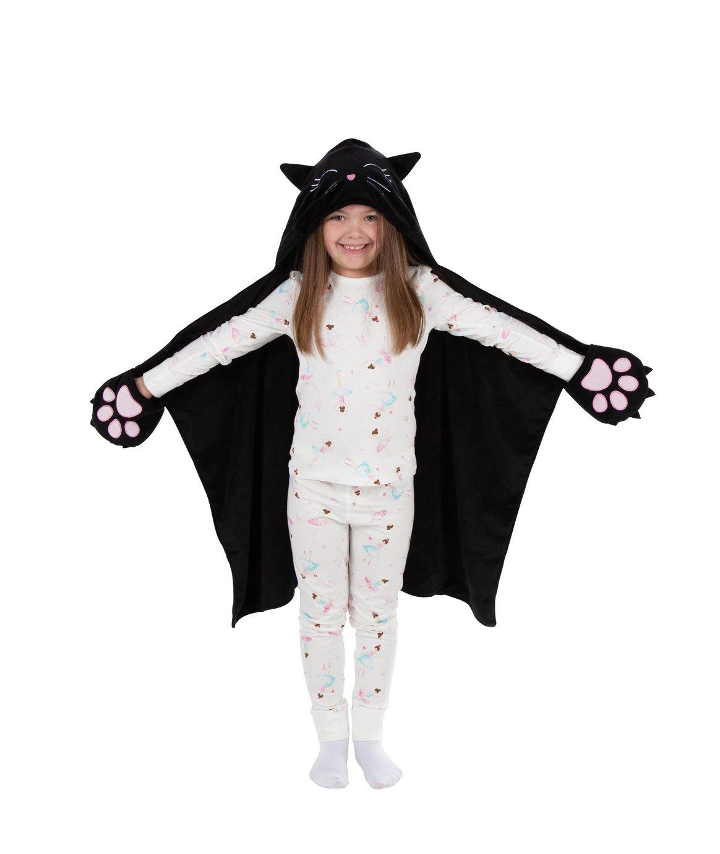 Halloween Cat Snuggle Blanket