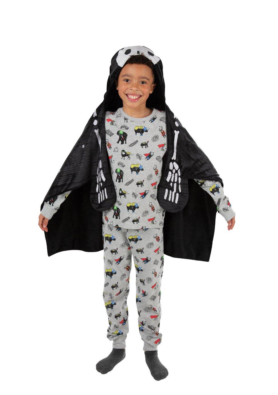 Halloween Skeleton Snuggle Blanket