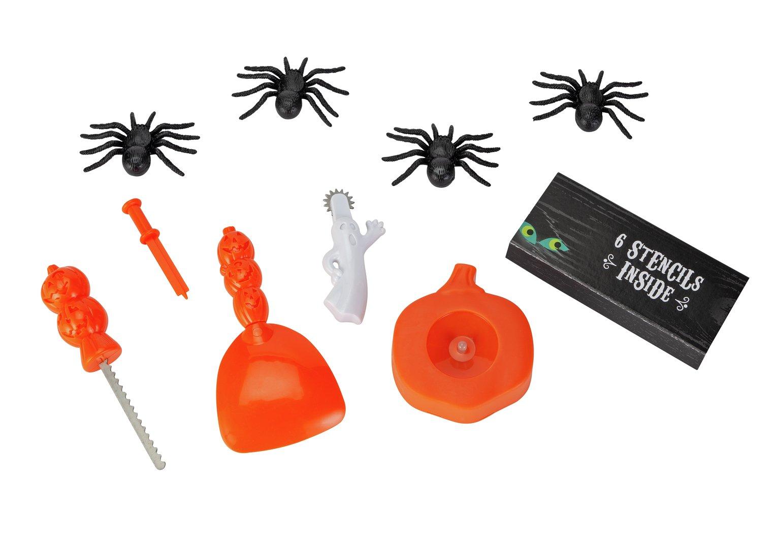 Argos Home Halloween Deluxe Pumpkin Carving Kit
