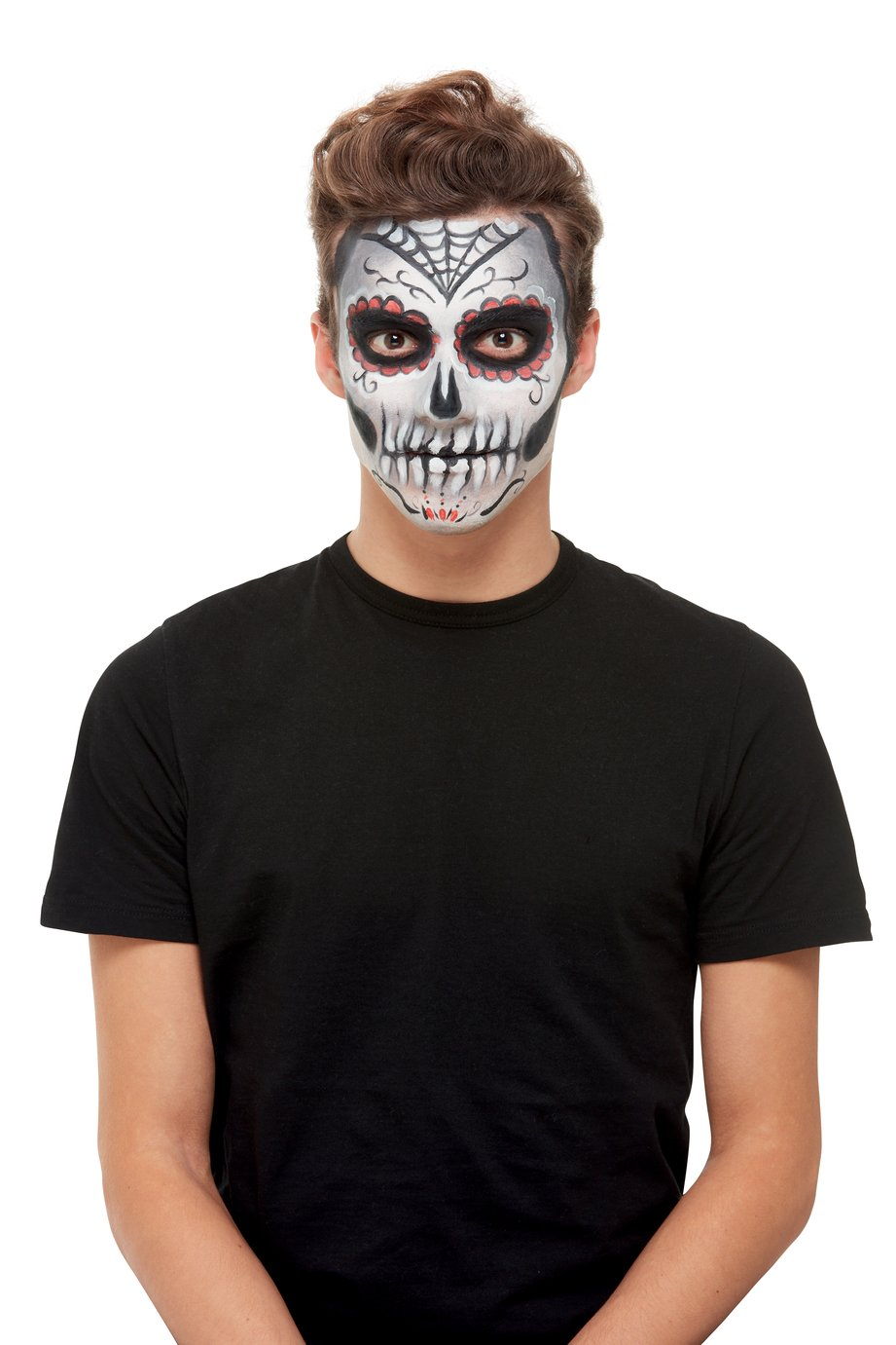 Illusions Halloween Sugar Skull Makeup Set