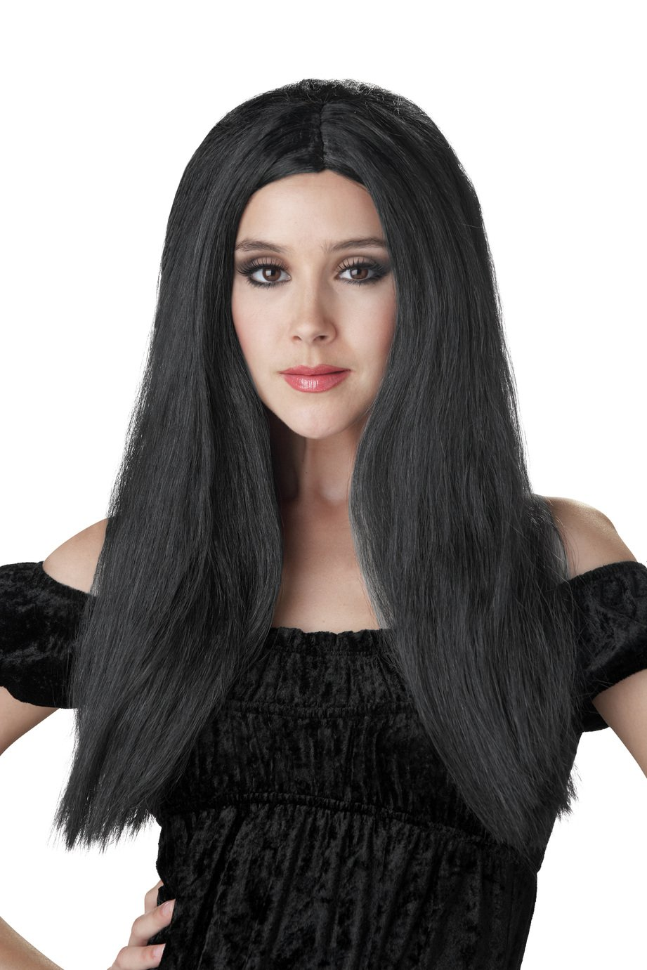 Halloween Long Black Wig