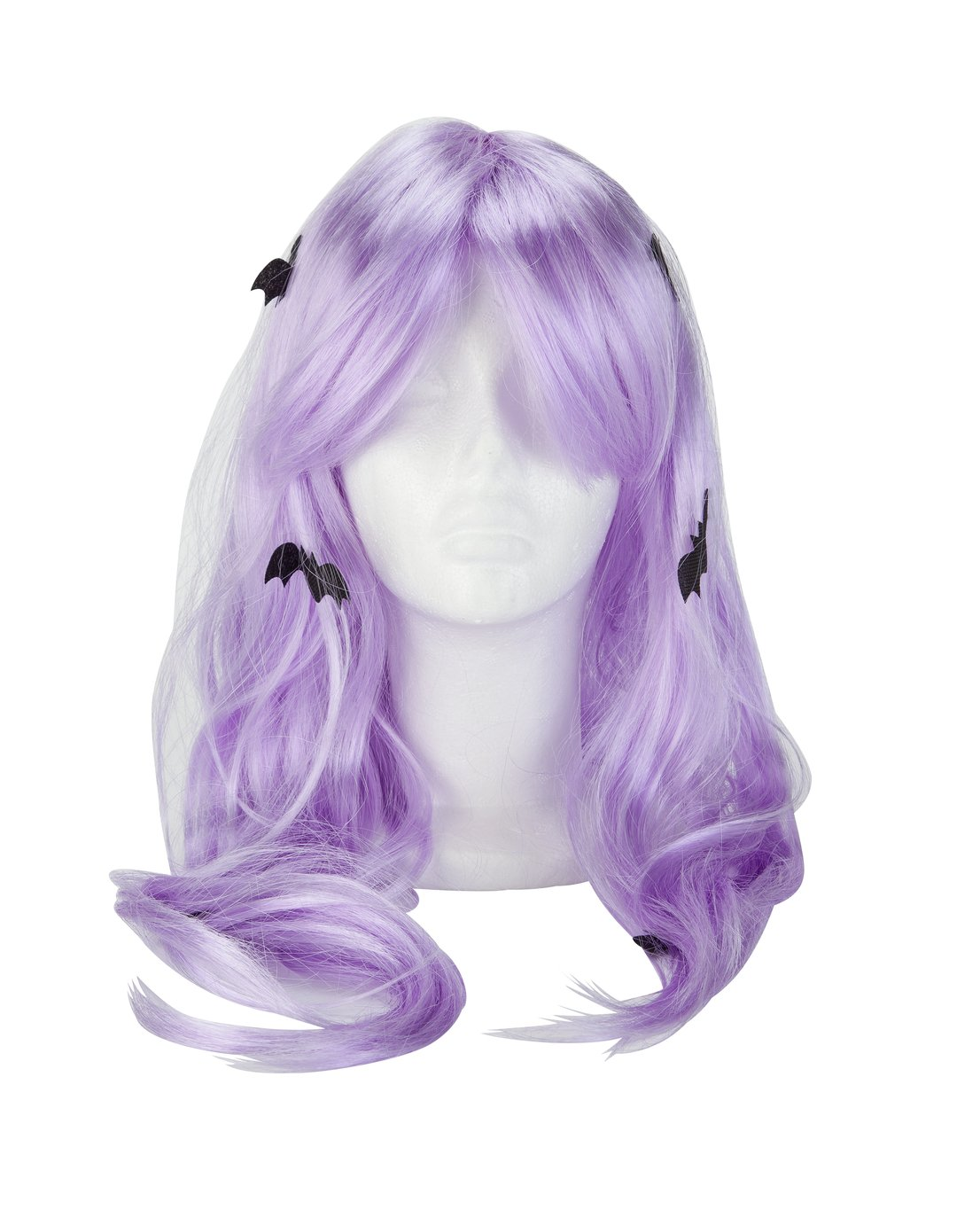 Argos Home Halloween Lilac Bat Wig