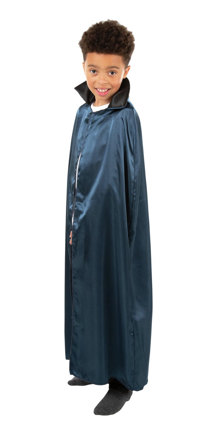Argos Home Halloween Vampire Cape - Navy
