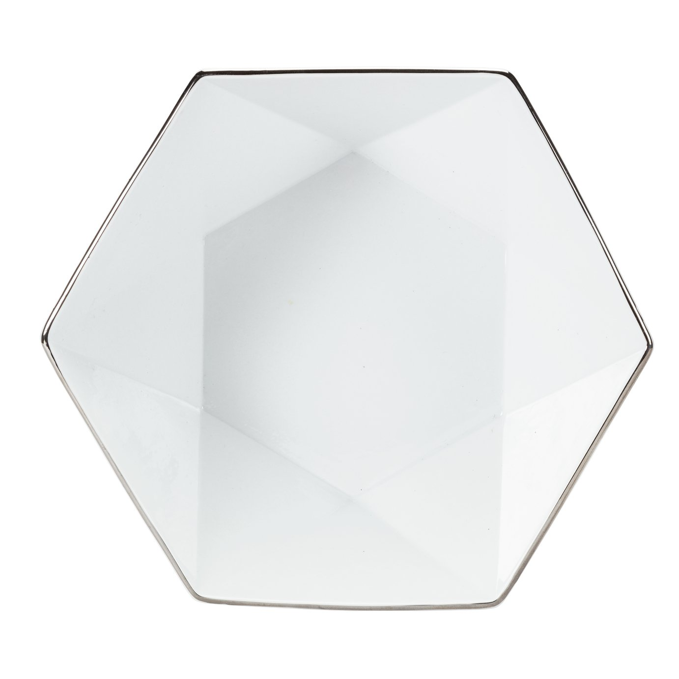 Argos Home Luxe Geo Serving Bowl