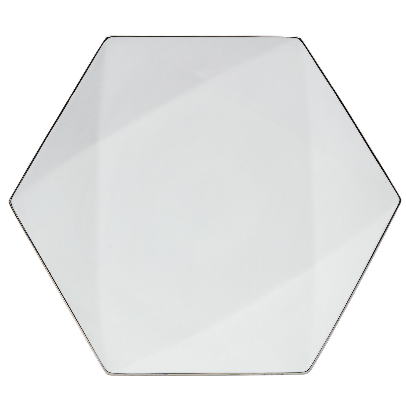 Argos Home Luxe Geo Large Platter