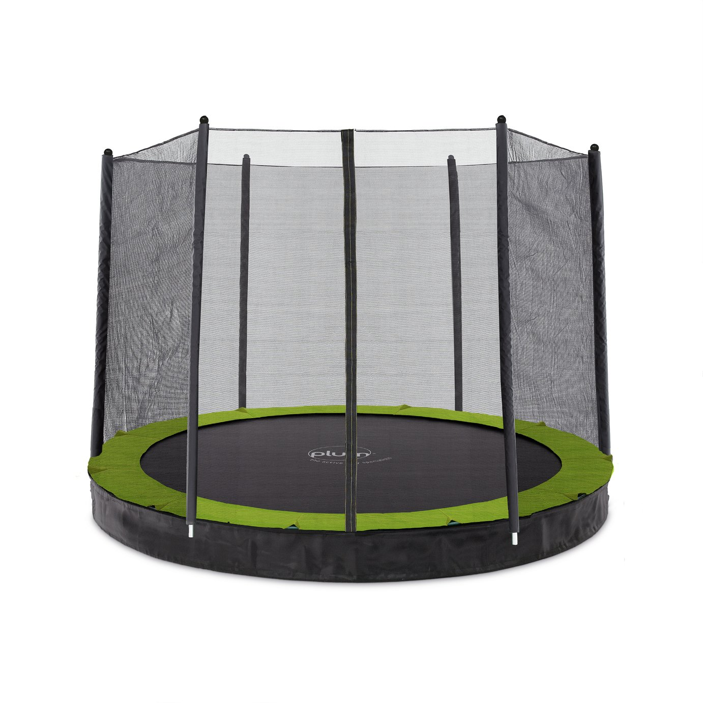 Plum 8ft In Ground Trampoline with Enclosure